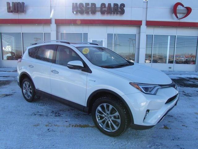 Pre Owned 2016 Toyota Rav4 Hybrid Limited 4d Sport Utility In